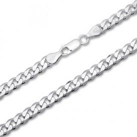 Мужские серебряные цепочки на шею, купить цепь